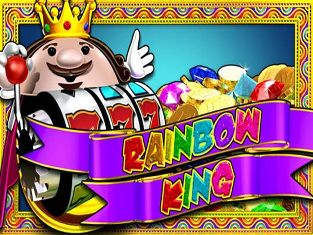 rainbow king slot logo